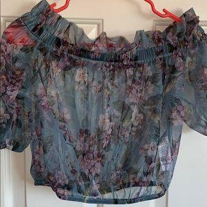 Rare asos floral mesh